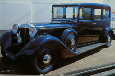 1935 12-Cylinder Daimler Car Museum of the Sea Aboard The Queen Mary Postcard A8
