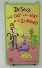 DR. SEUSS: THE CAT IN THE HAT GETS GRINCHED ANIMATED VHS VIDEO, MUSICAL ADV.