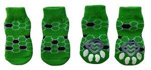 Dog Puppy Anti-slip Socks - For Tiny & Small Breeds - Choose Designs - S M L XL