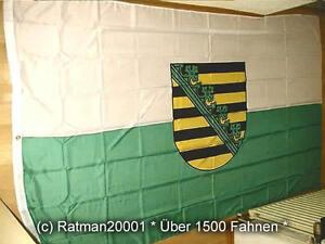 Fahne Flagge Sachsen - 2 - 150 x 250 cm