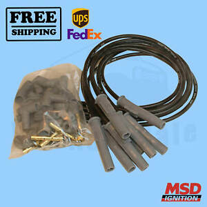 Spark Plug Wire Set MSD fits Plymouth Savoy 64