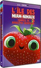 """DVD """"Tempête de boulettes géantes 2 : L'île des miam-nimaux"""" NEUF SOUS BLISTER"""