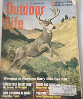Outdoor Life Magazine Warning To Hunters Early Blur November 1965 080517nonrh