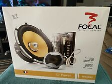 New listing Focal 165 Krx2 Crossovers, Grills and Hardware Only! New-Open Box- Unused