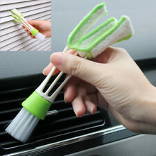 Car Vent Air-Condition Blind Cleaner Duster 2-Heads Cleaning Brush Accessories