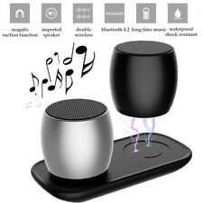 Gemelos Altavoces Estéreo Bluetooth Inalámbrico Portátil con USB Charging Dock 4 @ne