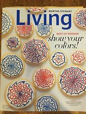 Martha Stewart Living July 2011 BEST OF SUMMER Show your colors! FREE SHIPPING