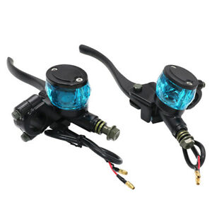 Left&Right Bike Anti Falling Brake Pump Hydraulic Clutch Oil Cup 22MM Handlebar