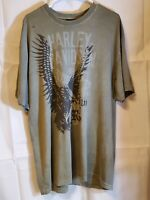 Harley Davidson Chi-Town HD, Tinley Park, IL Live to Ride Eagle T-Shirt XL