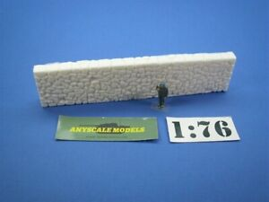 OO/4mm Model Railway. Rough stone harbour wall sections. 0338