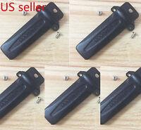 5x KBH-10 Belt Clip for Kenwood TK-272G TK-372G TK-2180 TK-3180 Portable Radio