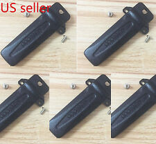 5x KBH-10 Belt Clip for Kenwood TK-272G TK-372G TK-2180 TK-3180 Portable Radio