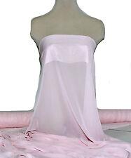 "Hi-Multi Chiffon Fabric Sheer 60"" Pink/L 5998 Bridal, Formal Wear, Decor"