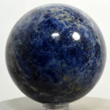 60mm Sodalite Sphere Rich Blue Natural Crystal Polished Mineral Stone - Africa