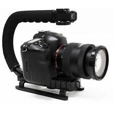 C / forme U équerre Poignée Stabilisateur pour DSLR Vidéo Canon Nikon Caméra DV