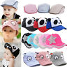 Cute Boy Girl Baby Infant Toddler Beret Cap Peaked Snapback Baseball Hat Sun hat