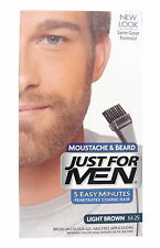 Just For Men Brush In Colour For Beard Light Brown M-25