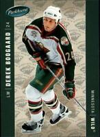 2005-06 Parkhurst Wild Hockey Card #246 Derek Boogaard RC