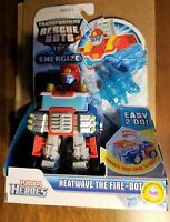 Transformers Rescue Bots Energize Heatwave the Firebot MIB NEW SEALED RARE 2012