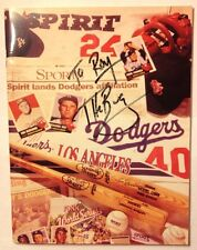 San Bernardino Spirit Baseball Magazine/Yearbook 1994/1995 Autographed by TheBug