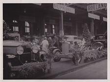 GRAHAM PAIGE Exhibit at 1929 PARIS AUTOMOBILE SHOW * V Rare VINTAGE press photo