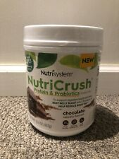 Nutrisystem NutriCrush Protien & Probiotics Shake Mix Chocolate -One Contain..