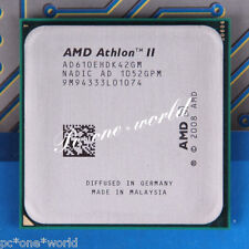 100% OK AD610EHDK42GM AMD Athlon II X4 610e 2.4 GHz CPU Processor Socket AM3