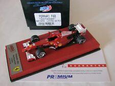 F1 BBR 1/43 FERRARI F60 SANTANDER TEST PAUL RICARD 2010 BBR C34PRE ALONSO