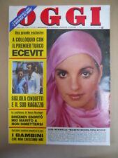 OGGI 36 1974 Liza Minnelli Marcella Bella Franca Valeri Aldo Palazzeschi  [G775]