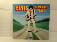 RARE Elvis Presley Separate Ways 1972 RCA   Vinyl Record                  lp2381