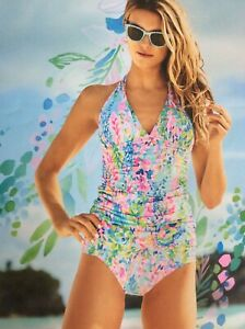 Lilly Pulitzer Catch the Wave Tankini top and Bottom