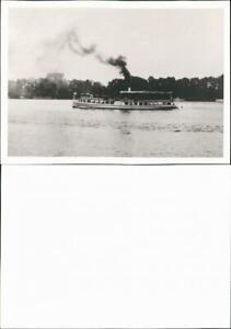 Ansichtskarte  Fahrgastschiffe Dampfer volle Fahrt 1900 REPRO