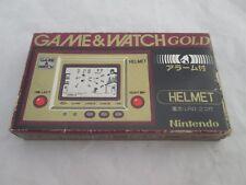 Helmet - Nintendo Game & Watch w/ Manual and Box (1981) Japan (VERY RARE)