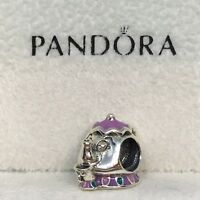 Sterling Silver Charm SEÑORA POTTS Y CHIP Disney ALE S925 Genuine Pandora bag