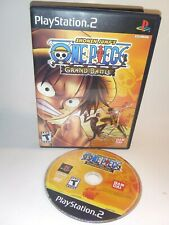 Shonen Jump ONE PIECE Grand Battle Video Game PlayStation 2 PS2 2005 Tested