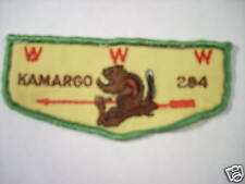 KAMARGO LODGE F2A USED FLAP PATCH