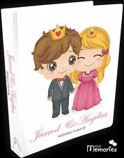Wedding Planner/prince & princess/Diary/Book/Keepsake momento/Personalised