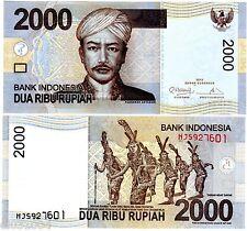 Indonesie INDONESIA Billet 2000 RUPIAH 2013 NEW NOUVEAU ANTASARI NEUF UNC