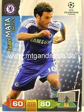Adrenalyn XL Champions League 11/12 - Juan Mata