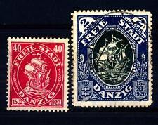 GERMANY - GERMANIA-LIBERA CITTÀ DI DANZICA - 1921 - Proclamazione dello stato di