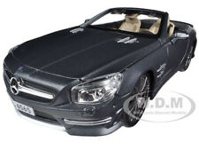 2012 MERCEDES SL 65 AMG CONVERTIBLE GREY 45th ANNIVERSARY 1/18 BY MAISTO 36198
