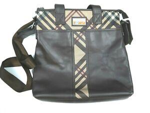 Burberry Nova Check Shoulder Bag Messenger Mens Cross Body Laptop Travel