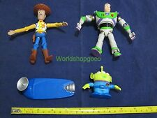"""Set of 3 Disney Toy Story Magnetic Joints Building BUZZ WOODY Alien 6"""" Figures"""