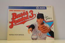 NES Video Game Manual ONLY for Bases Loaded 3 Nintendo Entertainment System