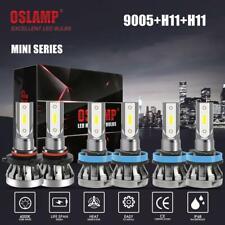 6x mini H11 9005 H11 LED Headlight Conversion Kit High Low Beam Fog Light 6000k