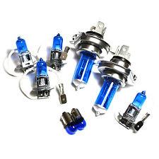 Ford Escort MK5 55w Super White Xenon HID High/Low/Fog/Side Headlight Bulbs Set