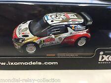 Citroën DS3 WRC M.Hirvonen Rally Portugal 13- 1/43 IXO VOITURE DIECAST - RAM550
