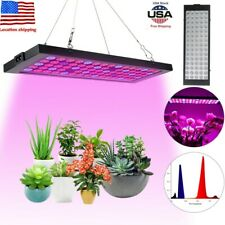 Waterproof 2000W Ultra-Thin Led Plants Bloom Weed Grow Light Lamp Full Spectrum