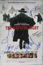 THE HATEFUL EIGHT CAST SIGNED 11x17 PHOTO QUENTIN TARANTINO KURT RUSSELL DC/COA