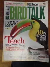 *BIRD TALK MAGAZINE Sep 10 Toucan Softbill Lovebird Alex the African Grey Parrot